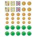 Кел, ойнайық. Математикадан тілінбелі дидактикалық материал. 6–7 жас / Поиграй-ка. Разрезной дидактический материал по математике. 6–7 лет
