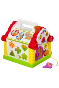Развивающая игрушка Play Smart Расти малыш Теремок