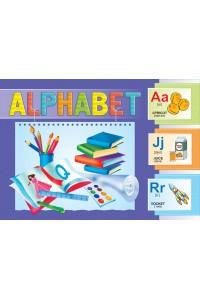 Alphabet. Набор из 26 букв английского алфавита на картоне