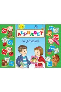 Alphabet in pictures. Дидактикалық карточкалар (26 дана)